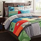 So Cal Surf Quilt, Twin, Multi