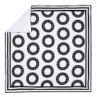 Dottie Circle Quilt, Twin, Black