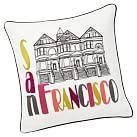 Destination Pillow Cover, San Francisco