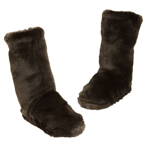 Luxe Fur Slippers, X-Large