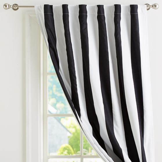 Cottage Stripe Drape, 63