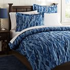 Camo Duvet Cover, Twin, Navy