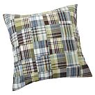 Outrigger Plaid Sham, Euro