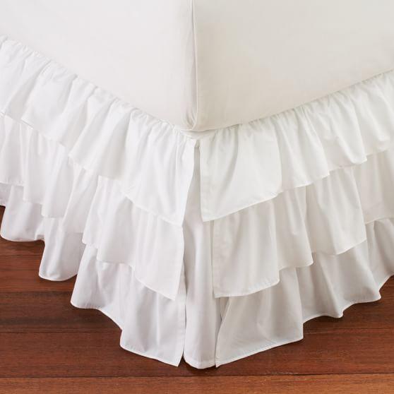 Ruffle Bed-skirt, XL/Twin