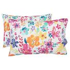 Wailele Floral Surf Extra Pillowcases, Set of 2