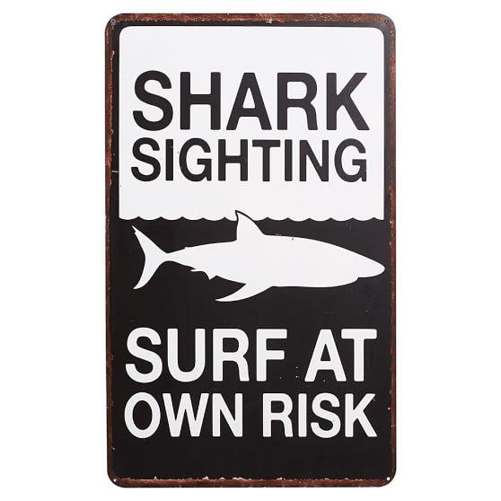 Metal Surf Signs,