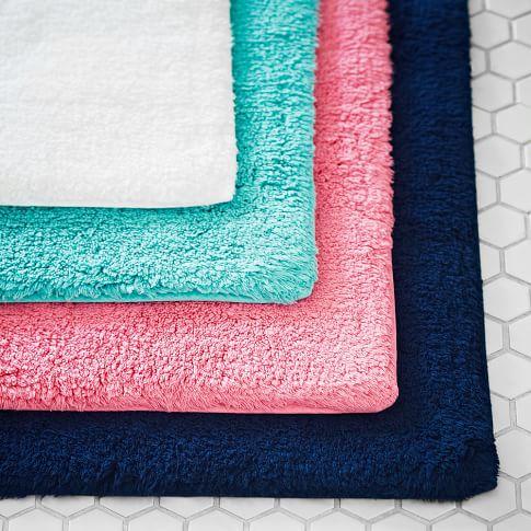 Essential Bath Mat, Bright Pink
