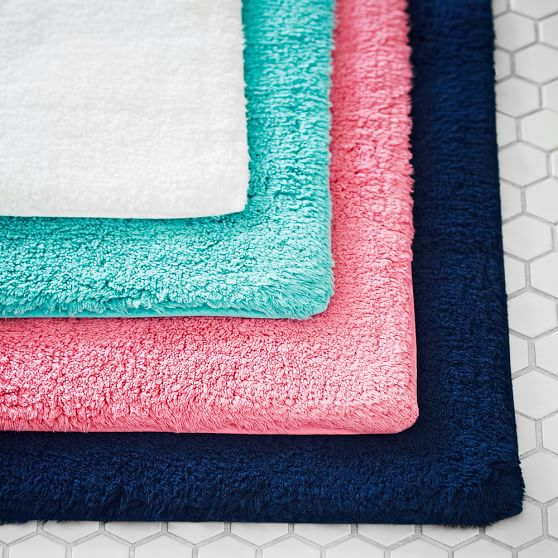Essential Bath Mat, Bright Pink