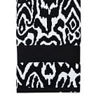 Urban Ikat Hand Towel, Black