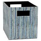 Upcycled Storage Bins, Medium, Pool
