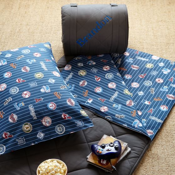 MLB Sleeping Bag, American League™, Navy