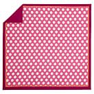 Dot Spot Duvet Cover, Twin, Dark Pink