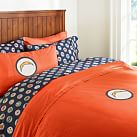 San Diego Chargers Duvet Cover, Twin, Orange