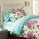 Tropical Garden Duvet Cover, Twin, Multi