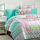 Sunset Beach Quilt, Twin, Multi