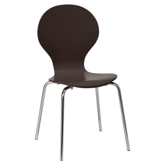 Swoop Chair, Coffee
