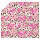 Painted Petals Duvet Cover, Twin, Pink Multi