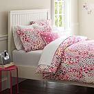 Cheetah Duvet Cover, Pink Multi, Twin