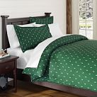 Creature Comfort Duvet Cover, Twin, Deer Dark Green