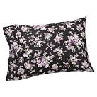 Sunwashed Floral Pillowcase, Standard, Set of 2, Black