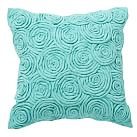 Rose Twist Pillow Cover, 16x16 Rose Twist Pool