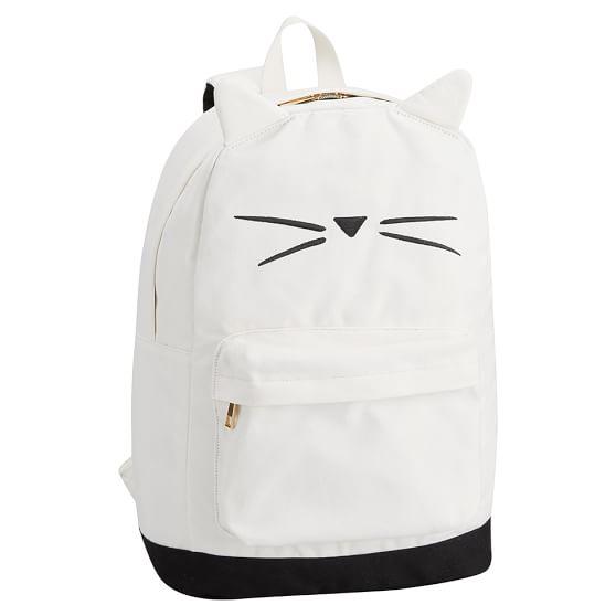 The Emily Amp Meritt Cat Shape Backpack Pbteen