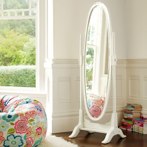 Lilac floor mirror pbteen for Mirrors for teenage rooms