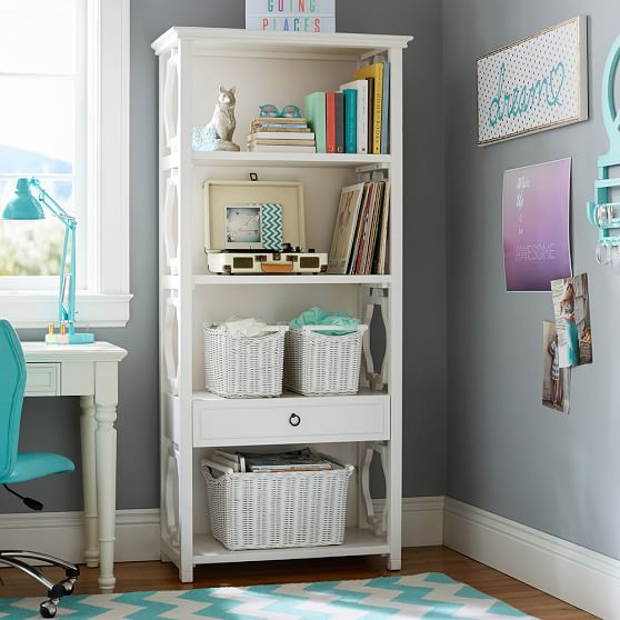 elsie bookcase pbteen With bookcase for teenage room