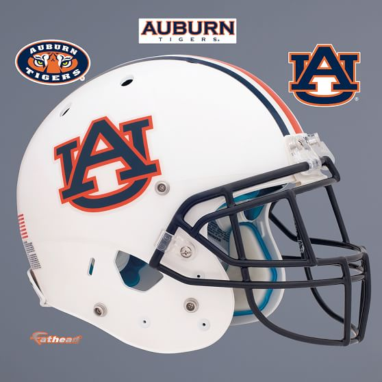 Auburn Tigers Helmet, Fathead | PBteen