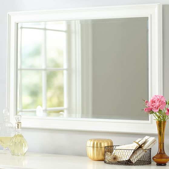 Simple Mirror White Pbteen