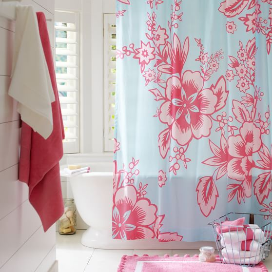 Garden Party Organic Shower Curtain