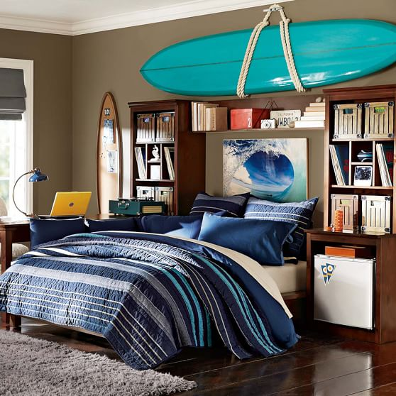 Stuff-Your-Stuff Platform Bed System (Bed, Towers, Shelves