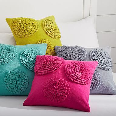 Throw Pillows Primark : Starburst Felt Pillow Cover PBteen