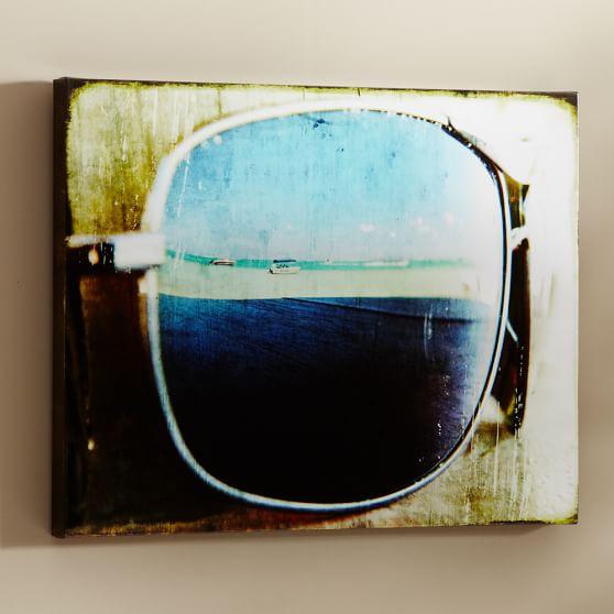 Beach Sunglasses Wall Art