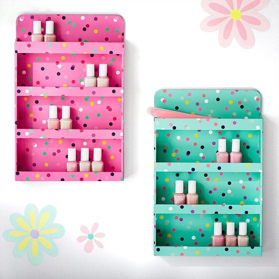 nail polish wall organizer