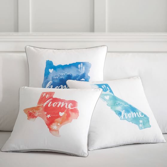 Home State Pillow Cover PBteen