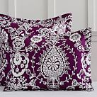Natalia Standard Sham, Dark Purple