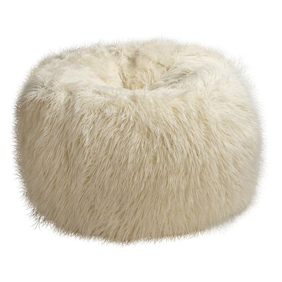Furlicious Beanbag, Large, Ivory