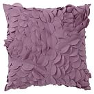 Pretty Petals Pillow, 14 x 14, Dusty Purple