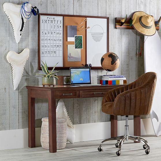 Hampton Classic Desk Hutch Ivory
