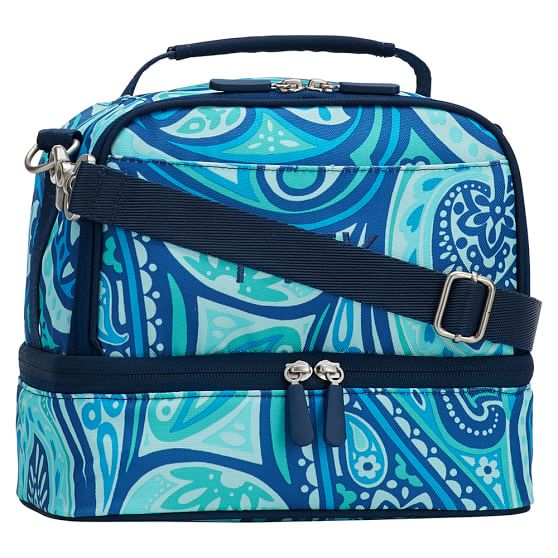 Gear-Up Paisley Power Dual Compartment Lunch Bag