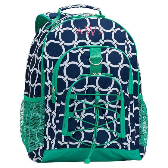Gear-Up Preppy Rings Backpack, Navy