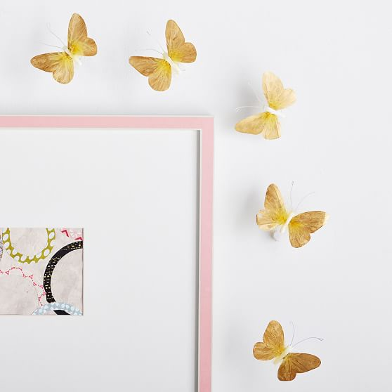 Image Result For Pink Feather Butterflies Set Pottery Barn Kids