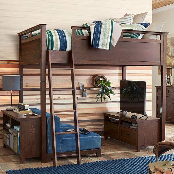 Hampton Convertible Loft Bed Pbteen