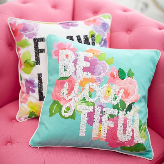 Maybaby Flower Power Pillow Covers Pbteen