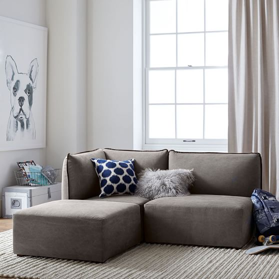 Small Sectional Sofa For Apartment: Bryce Lounge Sectional Set