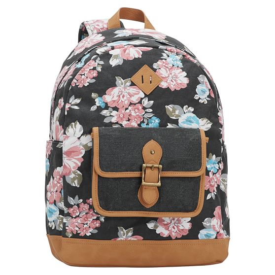 Northfield Bloom Burst Backpack, Black