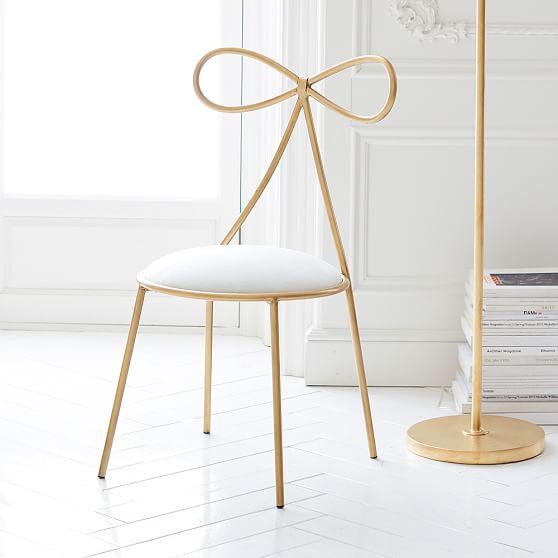 The Emily Amp Meritt Bow Chair Pbteen