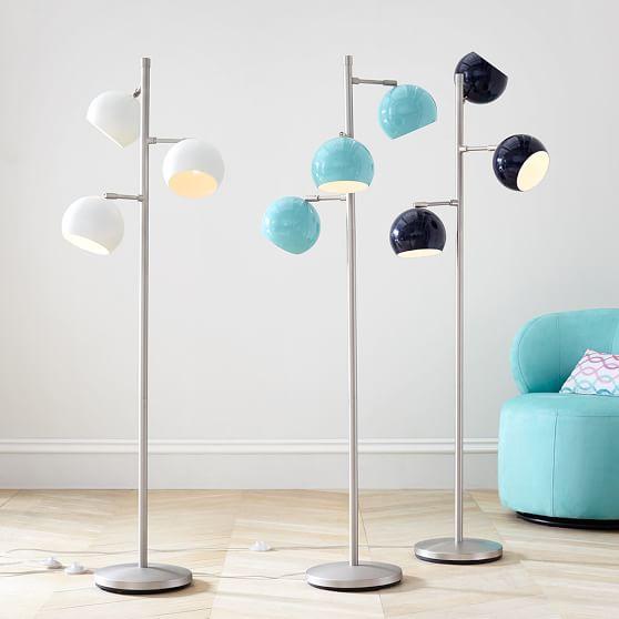 Floor Lamps Spotlight : Solid spotlight floor lamp pbteen