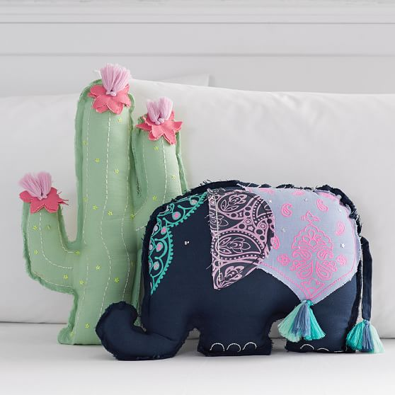 Tassel Shaped Pillows Pbteen